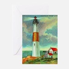 Montauk Point Lighthouse Greeting Cards (Package o