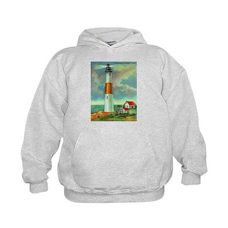 Montauk Point Lighthouse Kids Hoodie