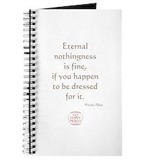 Eternal nothingness is fine Journal