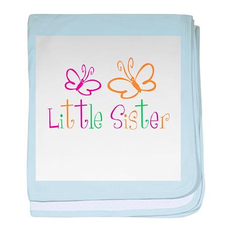 Little Sister Buttterfly baby blanket