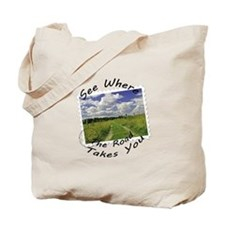 Where the road takes you Tote Bag