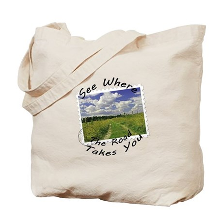 Where the road takes you Tote Bag
