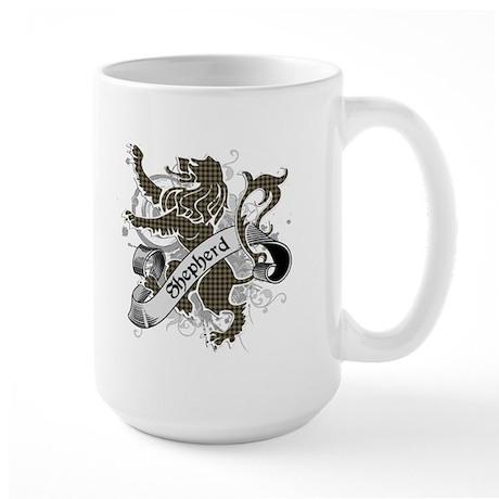 Shepherd Tartan Lion Large Mug