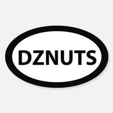 DZNUTS Bumper Decal