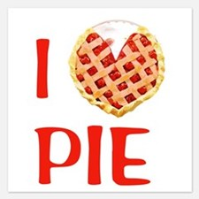 I Love Pie Invitations
