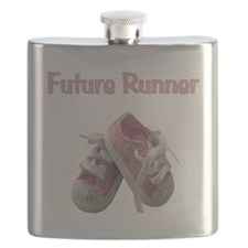 Cute Baby running Flask
