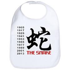 Years of The Snake Bib