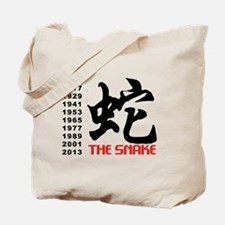Years of The Snake Tote Bag
