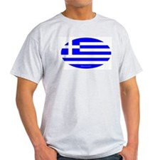 Greek Euro Ash Grey T-Shirt