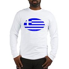 Greek Euro Long Sleeve T-Shirt