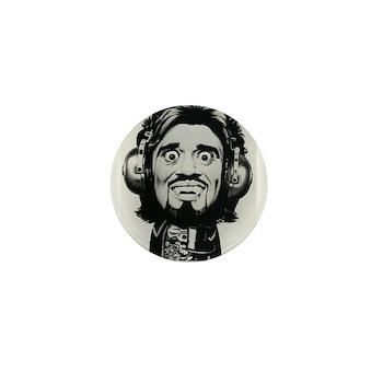 Wolfman Jack Mini-button