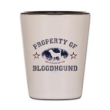 Bloodhound Shot Glass