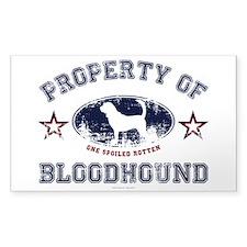 Bloodhound Decal