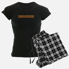 Redskins Text Logo - Large Pajamas