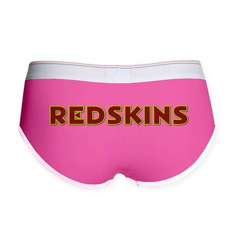 Redskins Text Logo - Large Women's Boy Brief