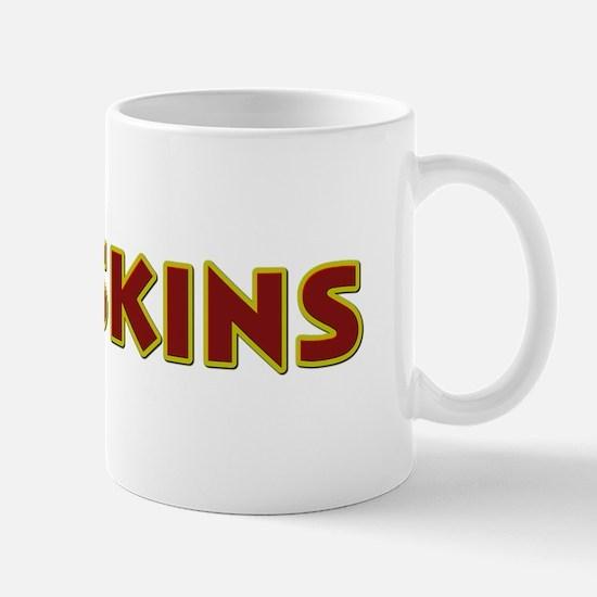 Redskins Text Logo - Large Mug