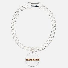 Redskins Text Logo - Large Bracelet
