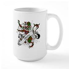 Skene Tartan Lion Mug