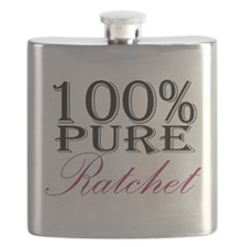 100% Pure Ratchet Flask