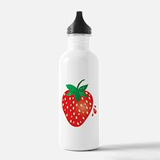 Juicy Ripe Strawberry Water Bottle