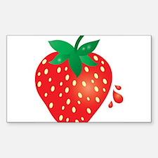 Juicy Ripe Strawberry Decal