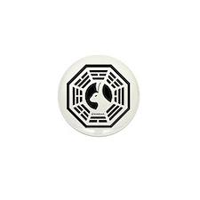 Dharma Looking Glass Mini Button