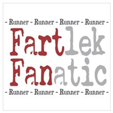 Funny FARTlek FANatic Framed Print