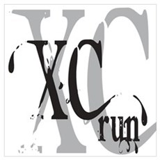 Cross Country XC Poster And Wall Art Canvas Art