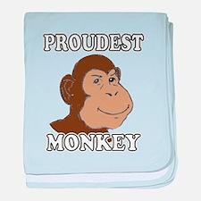 Proudest Monkey baby blanket