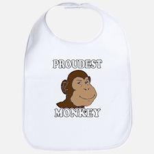 Proudest Monkey Bib