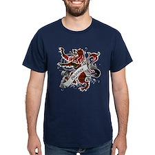 Skinner Tartan Lion T-Shirt