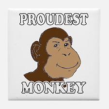 Proudest Monkey Tile Coaster