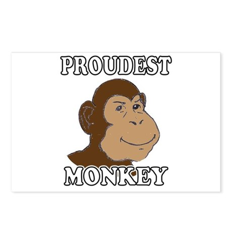 Proudest Monkey Postcards (Package of 8)