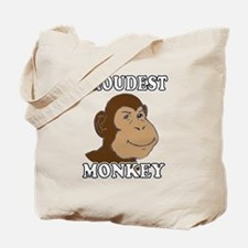 Proudest Monkey Tote Bag