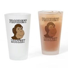 Proudest Monkey Drinking Glass
