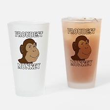 Proudest Monkey Drinking Glass