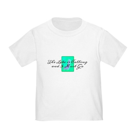 The Lake Is Calling and I Must Go Toddler T-Shirt