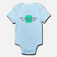 The Lake Is Calling and I Must Go Infant Bodysuit