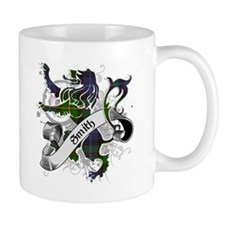 Smith Tartan Lion Small Mug