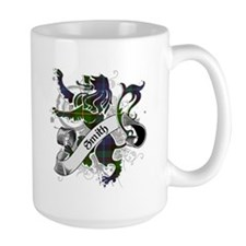 Smith Tartan Lion Mug