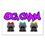 Kawaii Gangstas Sticker