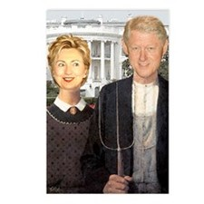 Hilary Clinton Nightmare Postcards (Package of 8)
