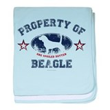 Property beagle Blanket