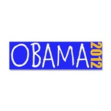 OBAMA 2012 Car Magnet 10 x 3