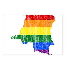 Democratic Republic Of The Congo Rainbow Pride Fla