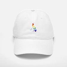 Philippines Rainbow Pride Flag And Map Baseball Baseball Cap