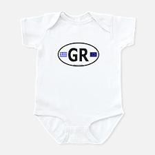 Greek Euro Infant Creeper