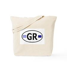 Greek Euro Tote Bag
