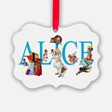 ALICE & FRIENDS IN WONDERLAND Ornament