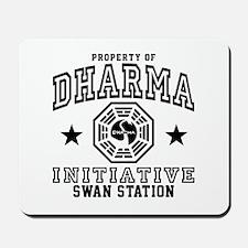 Dharma Swan Mousepad
